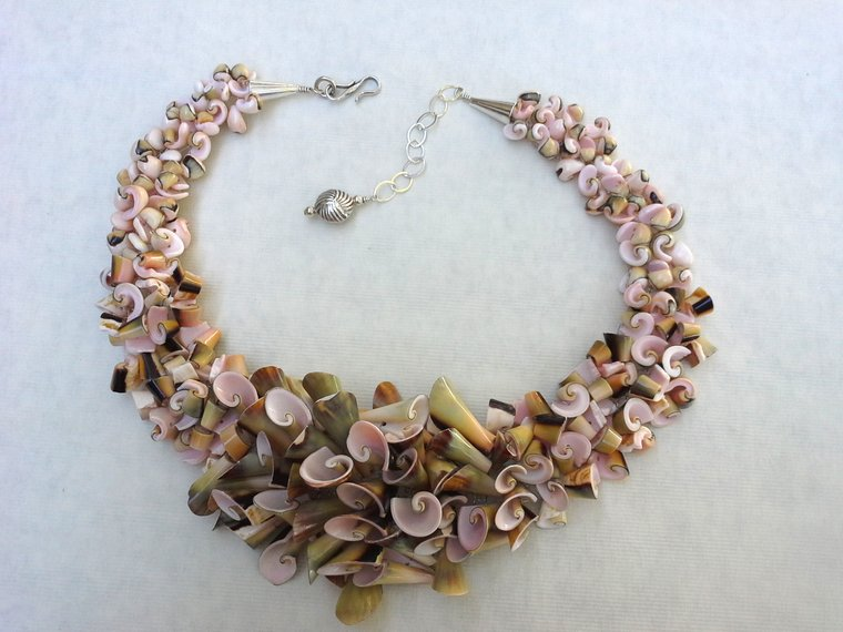 Exhibition Shell Necklace : Beaufort art association featured artist miller and